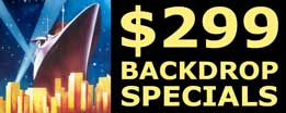 Click to see $299 Backdrop Specials