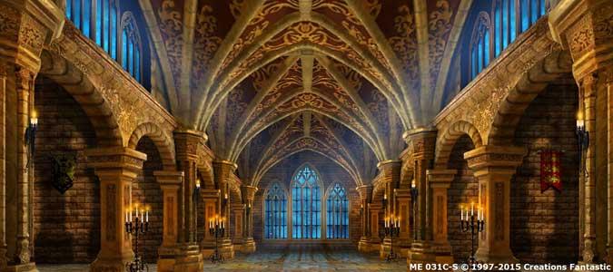 Dark Fantasy Castles Interior