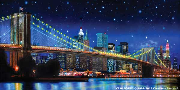 Backdrop CI 018C-DP3 Brooklyn Bridge NYC C
