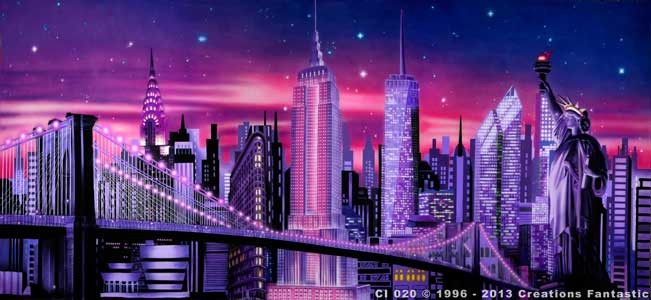 Backdrop CI 020 New York Stylized