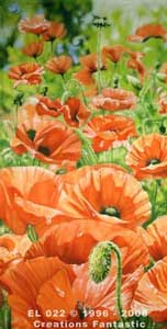 Backdrop EL022 Poppy Field Panel 1