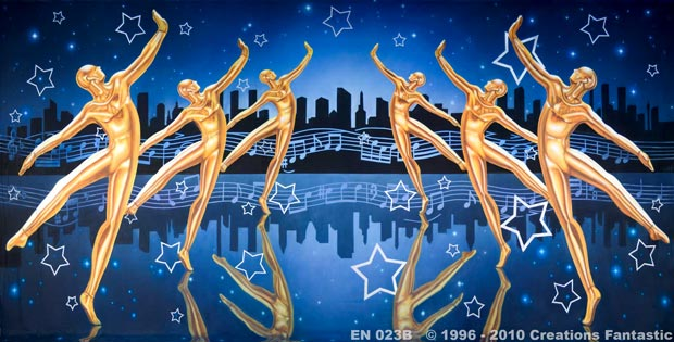 Backdrop EN023B Dance Stars 2B