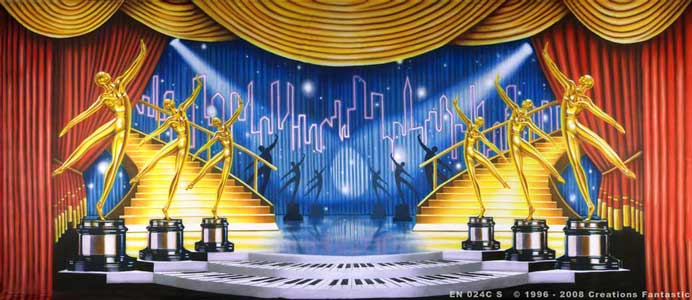 Backdrop EN 024C-S Dance Awards 2C
