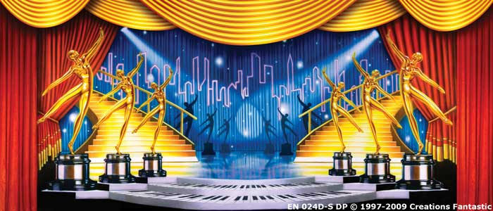Backdrop EN 024D-S DP Dance Awards 2D