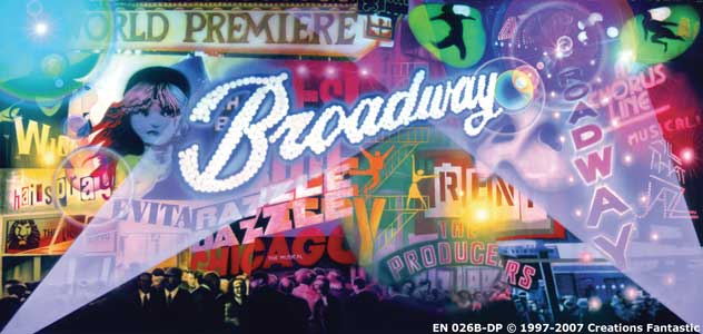 Backdrop EN026B-DP Broadway 2B