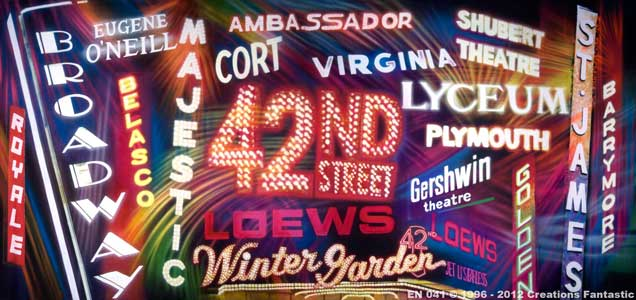 Backdrop EN 041 Broadway Theatre Marquees
