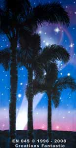 Backdrop EN045 Hollywood Palm Panel 3