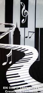 Backdrop EN 066 Piano Jazz Panel 1