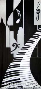 Backdrop EN 069 Piano Jazz Panel 4