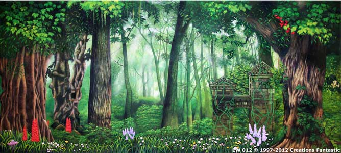 Backdrop EW 012 Enchanted Forest 3