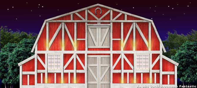 Backdrop EX 026 Red Barn Exterior 2