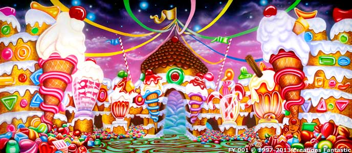 Christmas Candyland Backdrop.Backdrop Fy 001 Candyland 4