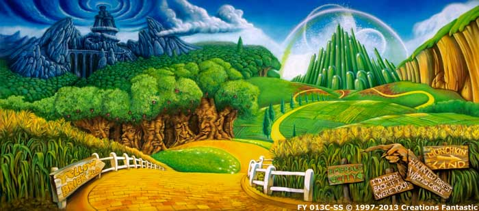Backdrop FY 013C-SS Land of Oz C