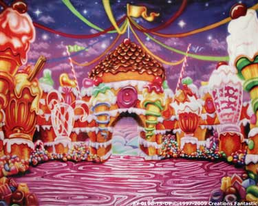 Backdrop FY019B-TS-DP Candyland 2B