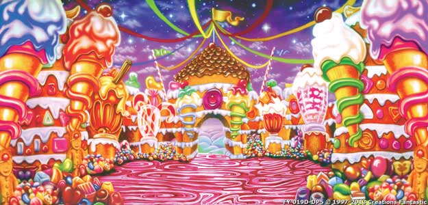Backdrop FY019D-DP5 Candyland 2D