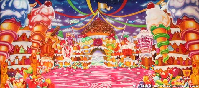 Christmas Candyland Backdrop.Backdrop Fy019e S Candyland 2e