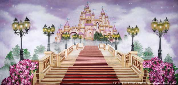 Backdrop FY037 Fairy Tale Castle 2
