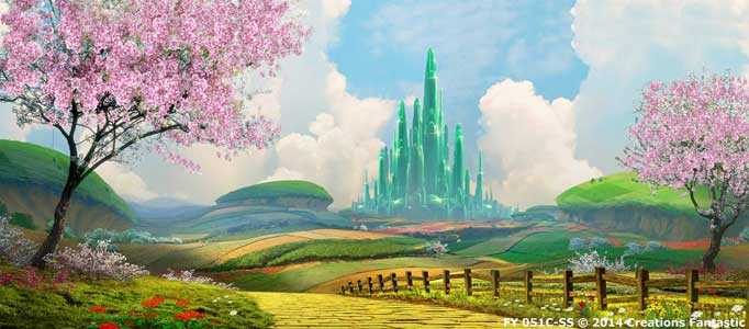 Backdrop FY051C-SS Land of OZ 2C