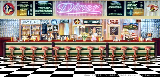 Fans rentals in u s a illinois page 11 for Diner interior