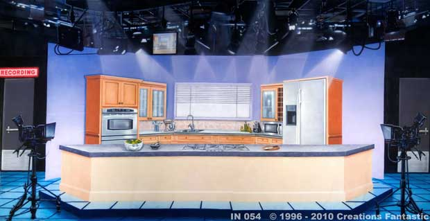 Backdrop IN 054 TV Kitchen Studio