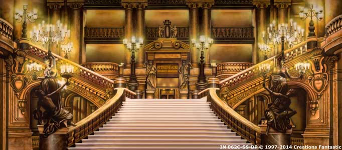 Backdrop IN 062C-SS Paris Opera Staircase C
