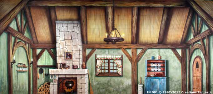 Backdrop IN 091 Cottage Interior 2