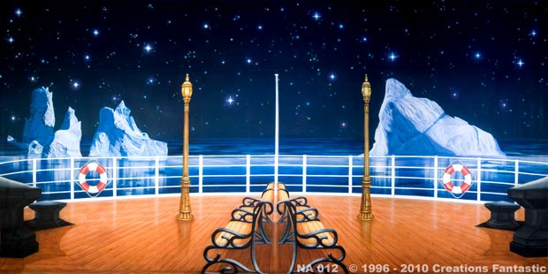 Backdrop NA012 Titanic Deck 2