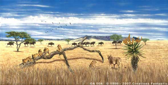 Backdrop OA 004 African Savannah 4