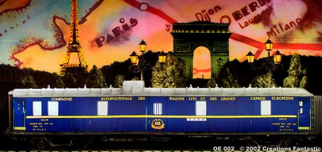 Backdrop OE002 Orient Express 2