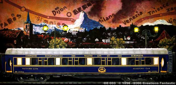 Backdrop OE003 Orient Express 3