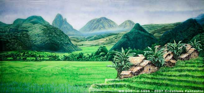 Backdrop OR005 Paddyfields 2