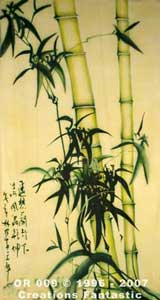 Backdrop OR009 Oriental Bamboo Panel 4