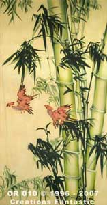 Backdrop OR010 Oriental Bamboo Panel 5