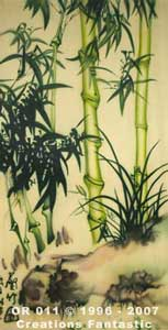 Backdrop OR011 Oriental Bamboo Panel 6