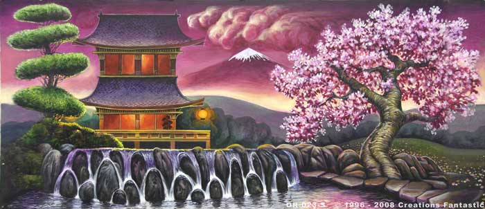 Backdrop OR023-S Oriental Landscape 1