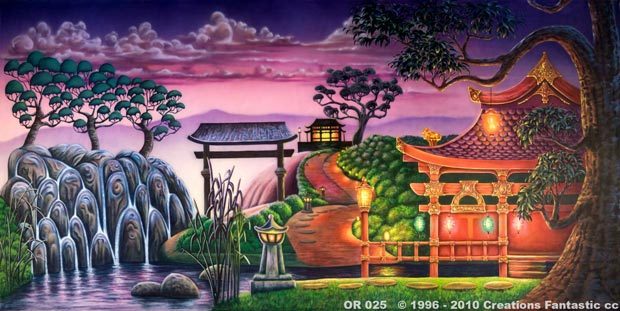 Backdrop OR025 Oriental Landscape 3