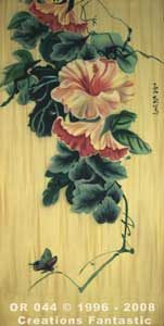 Backdrop OR044 Oriental Flower Panel 4