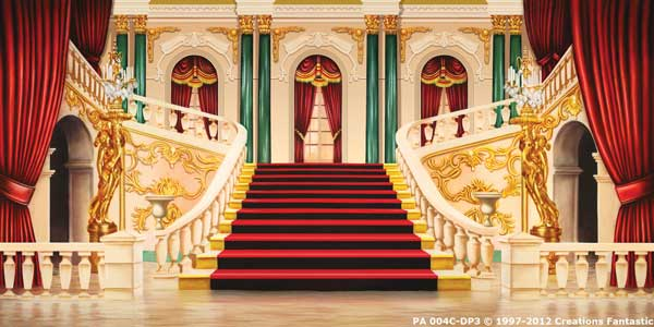 Backdrop PA 004C-DP3 Palace Interior 4C