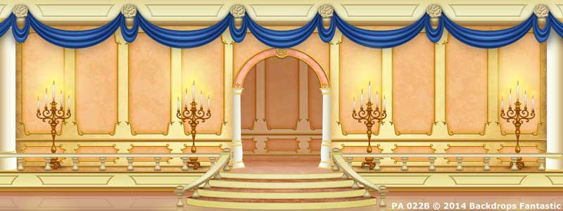 Backdrop PA 022B Princess Ballroom 1B