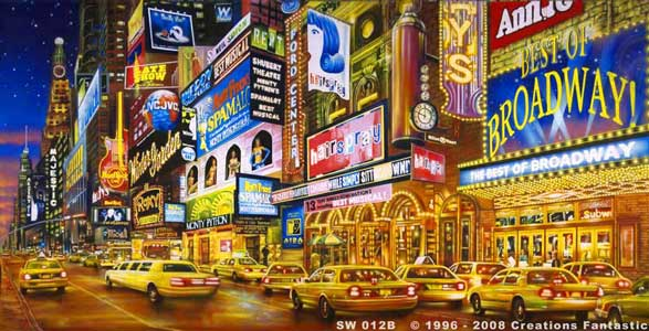 Backdrop  SW012B 42nd St - 2B
