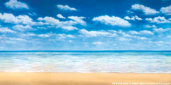 Backdrop TB021B-DP3 Tropical Beach 8B