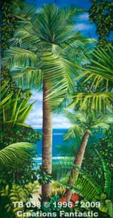 Backdrop TB 038 Tropical Beach Panel 6