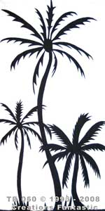 Backdrop TB 050 Palm Tree Panel 9