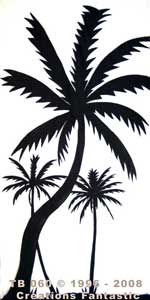 Backdrop TB 060 Palm Tree Panel 19