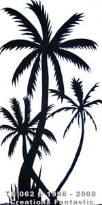 Backdrop TB 062 Palm Tree Panel 21
