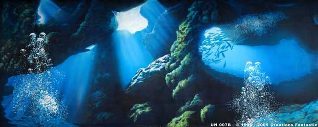 Backdrop UN007B Undersea Cave B