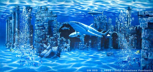 Backdrop UN009 Undersea Ruins