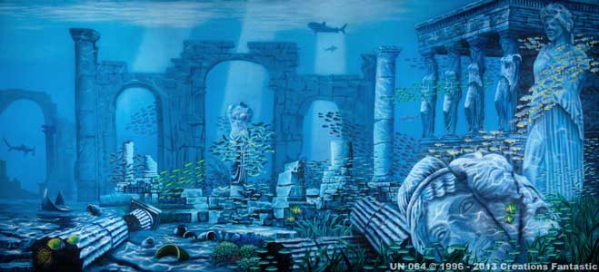 Quest for Atlantis - Prélude [Dolphin] UN-064-Atlantis-Ruins-2