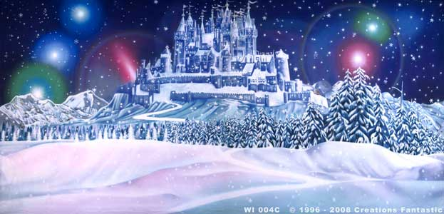 Backdrop WI004C Winter Wonderland 4C