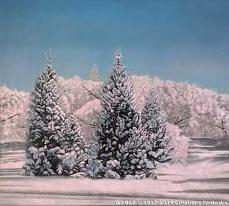 Backdrop WI 057 Winter Tree Landscape 4